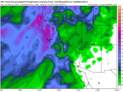 Active weather pattern on tap for California; high uncertainty remains regarding precipitation amounts