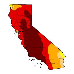 California is still in the midst of an exceptional long-term drought. (CPC/UNL/USDA).